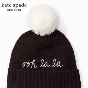 🎁 Kate spade Beanie NWT ♠️ ooh la la